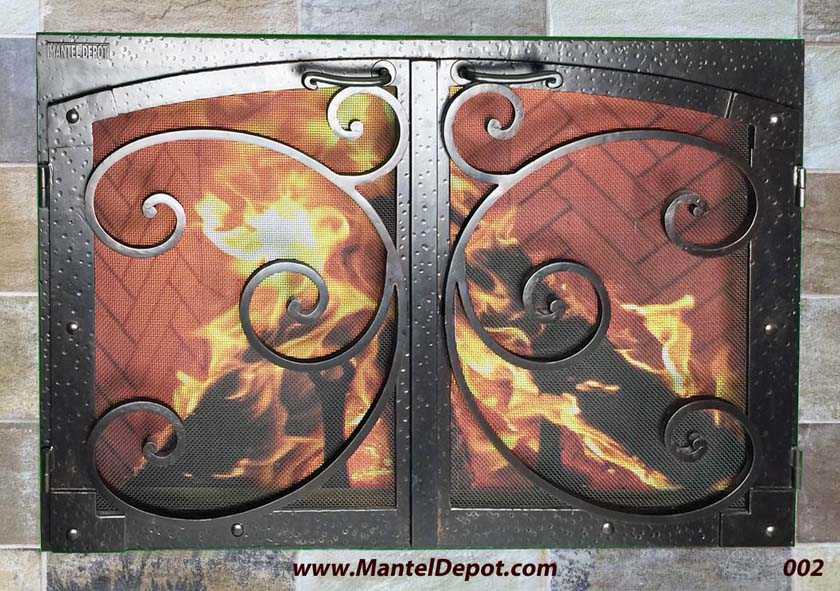 Fireplace Screens 2