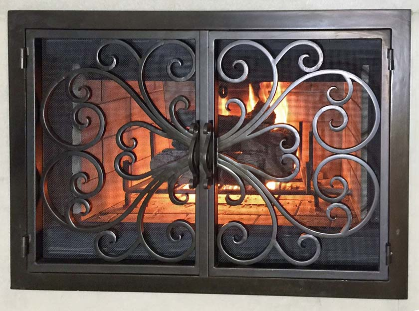Fireplace Door 6