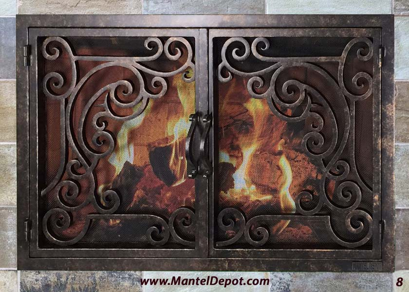 Fireplace Door 8