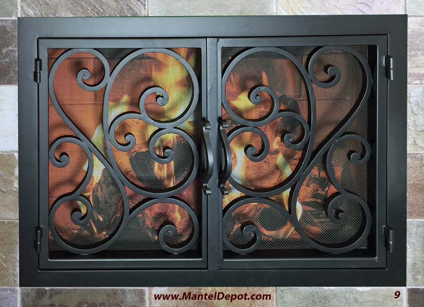 Fireplace Door FD009