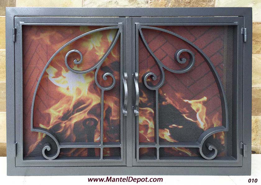 Fireplace Door 7