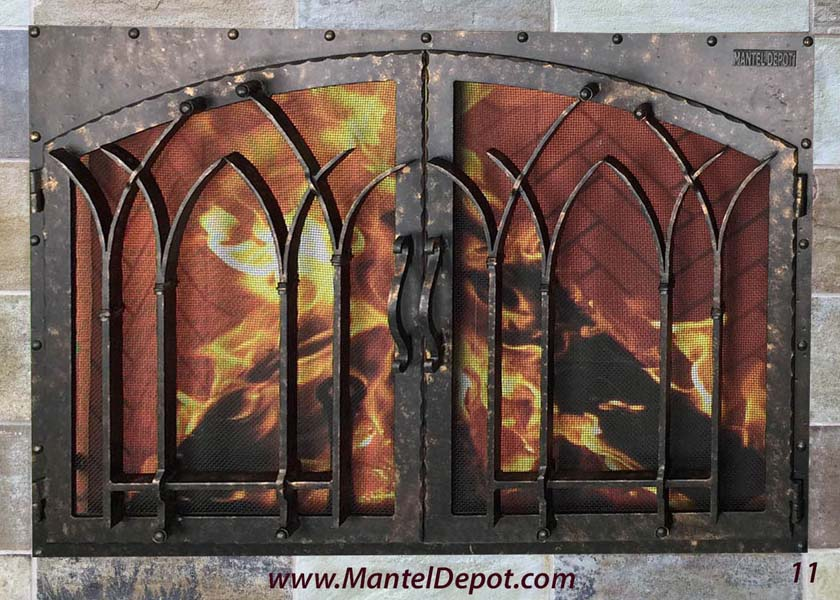 Fireplace Door 11