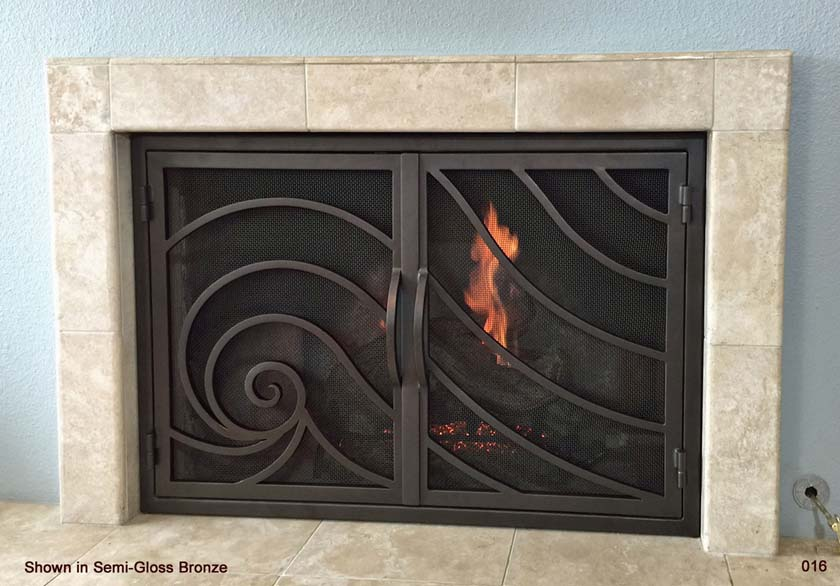 Fireplace Door 16