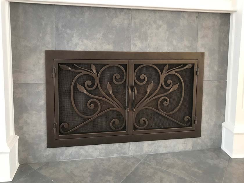 Fireplace Door FD035