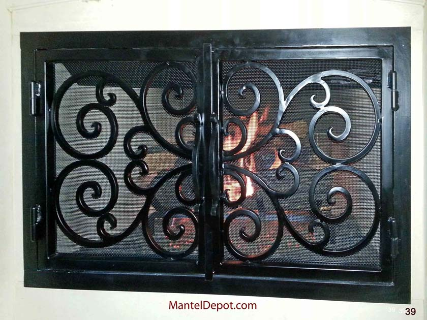 Fireplace Door 39