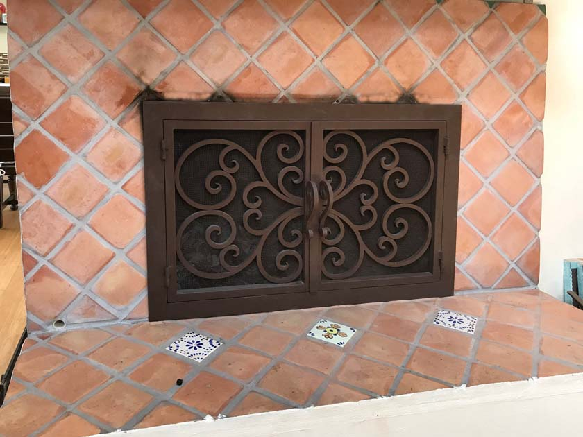 Fireplace Door FD039