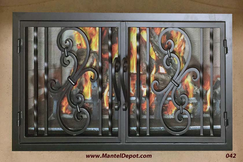 Fireplace Door 42