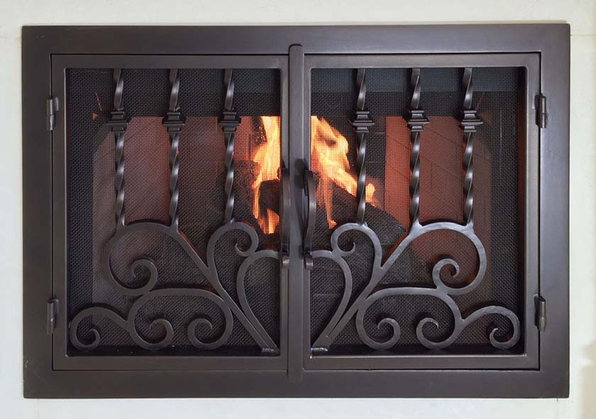 Fireplace Door 44
