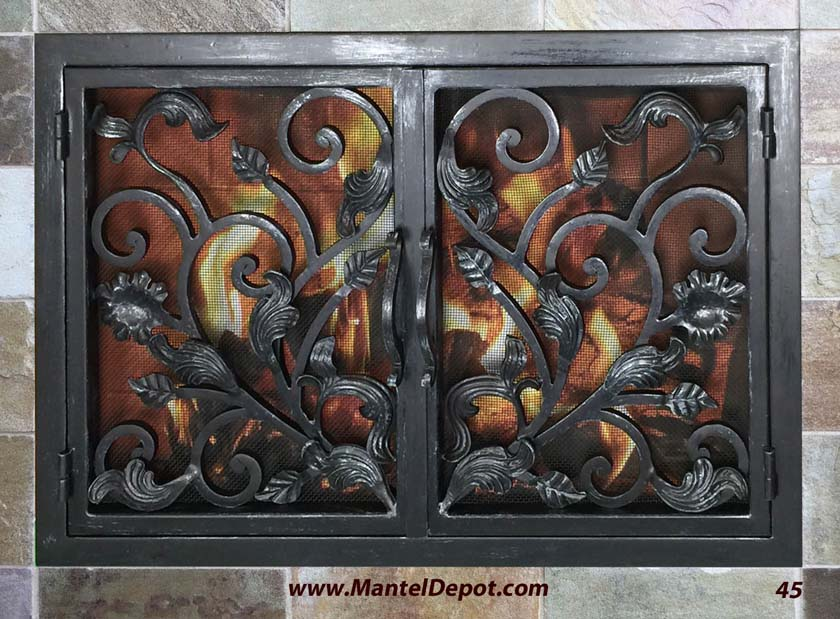 Fireplace Door 45