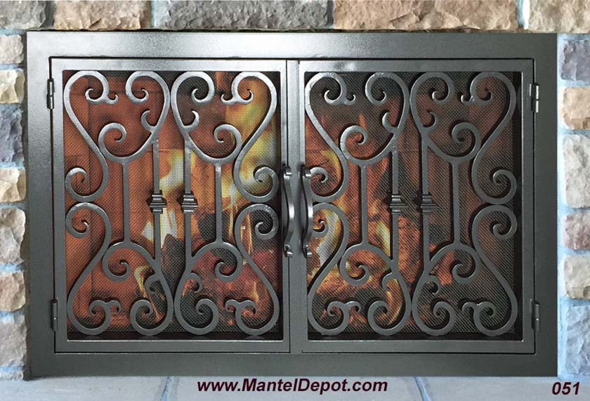 Fireplace Door 51