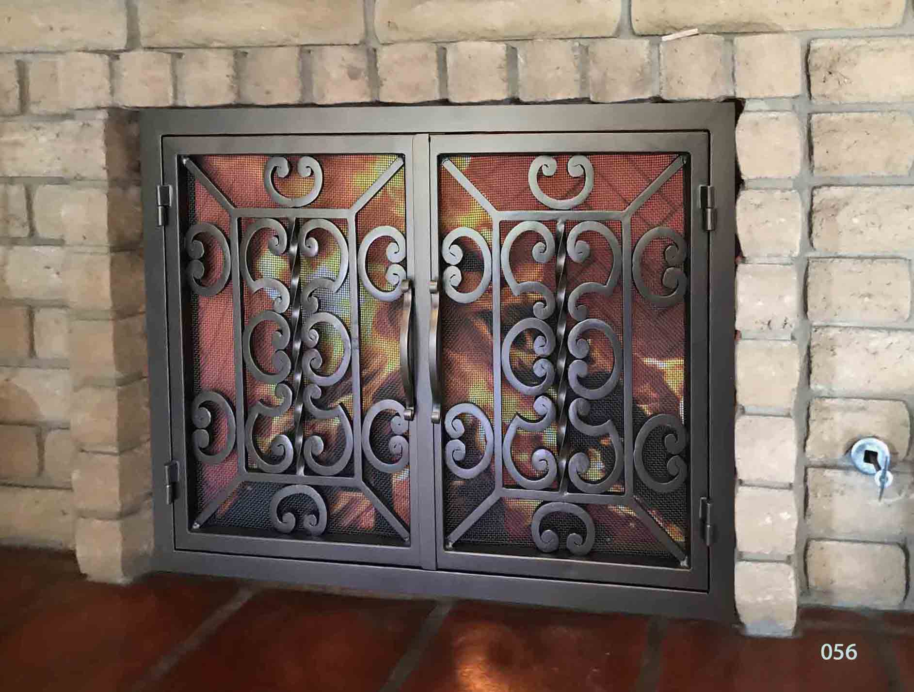 Fireplace Door 56