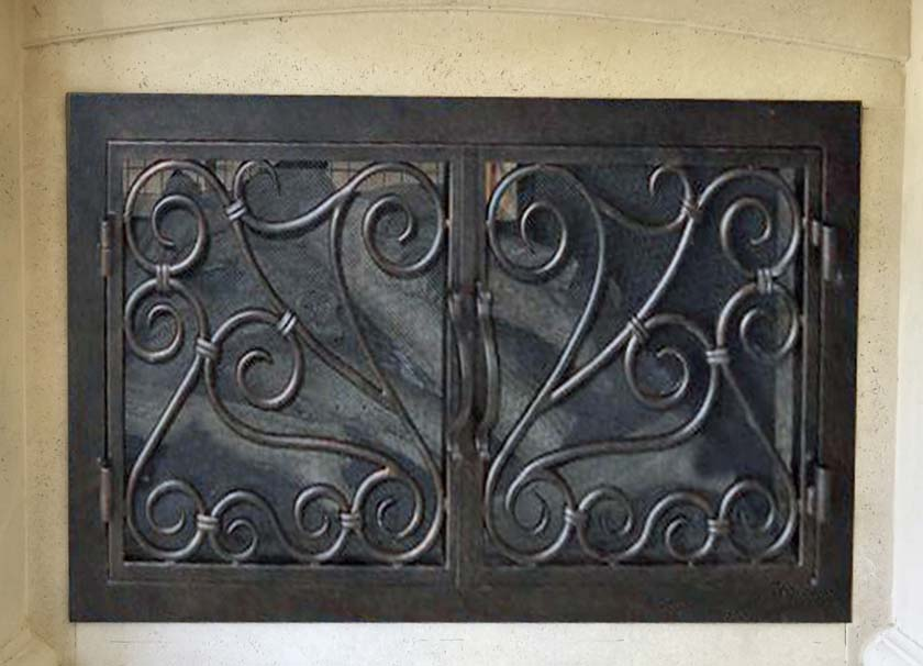 Fireplace Door 13