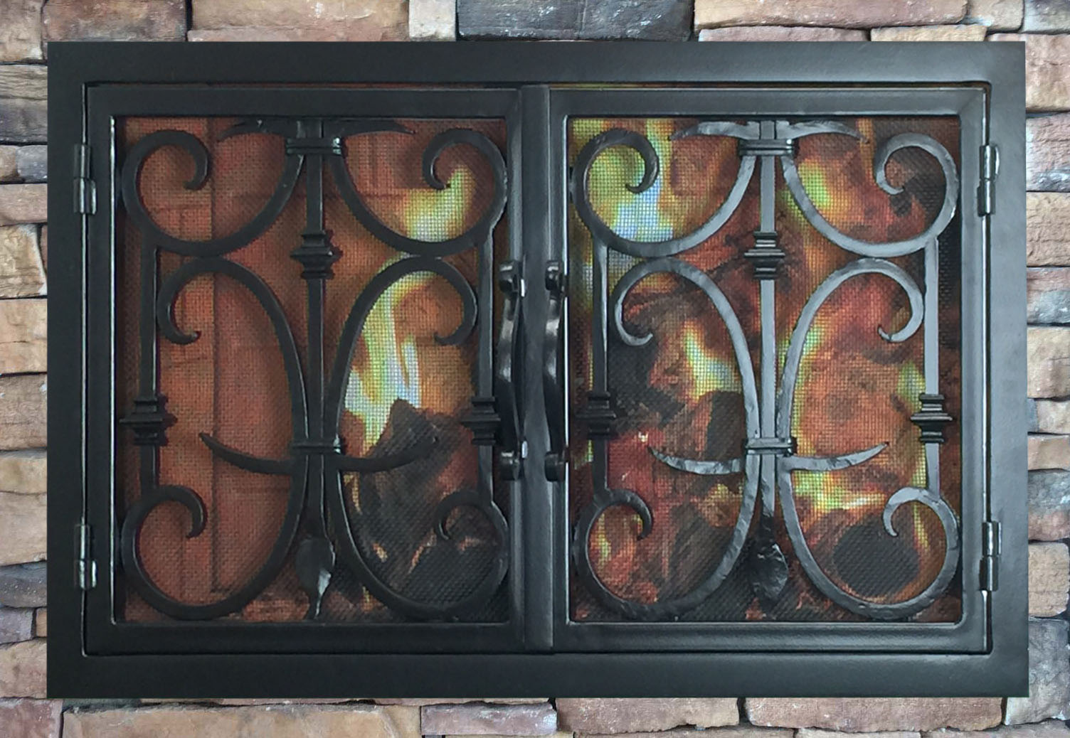 Fireplace Door 21