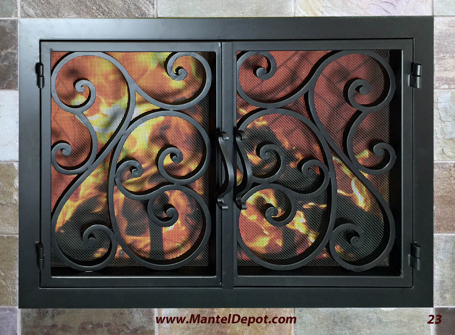 Fireplace Door FD023