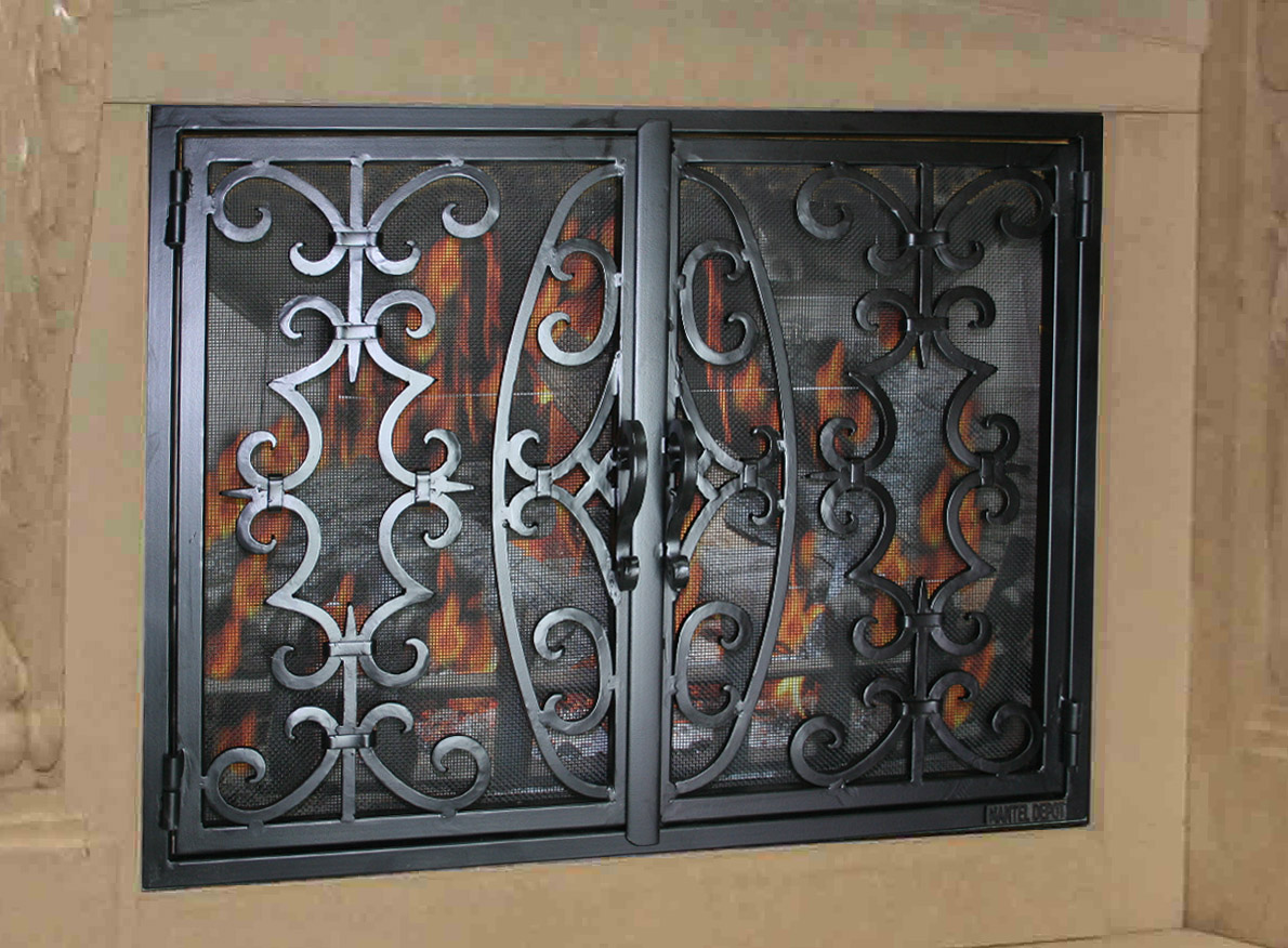 Fireplace Door 24
