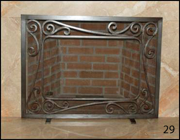 Fireplace Door 29