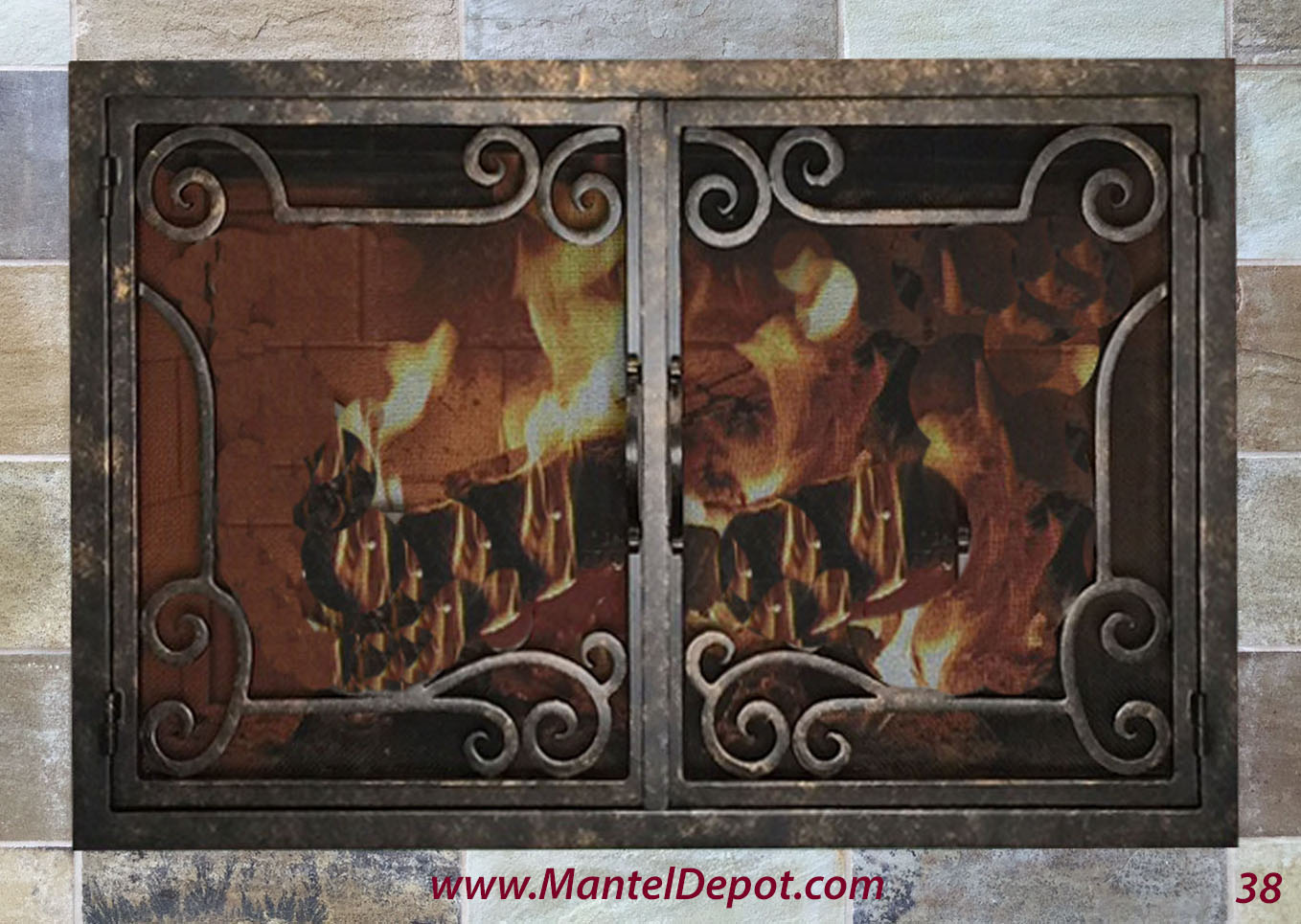 Fireplace Door 38