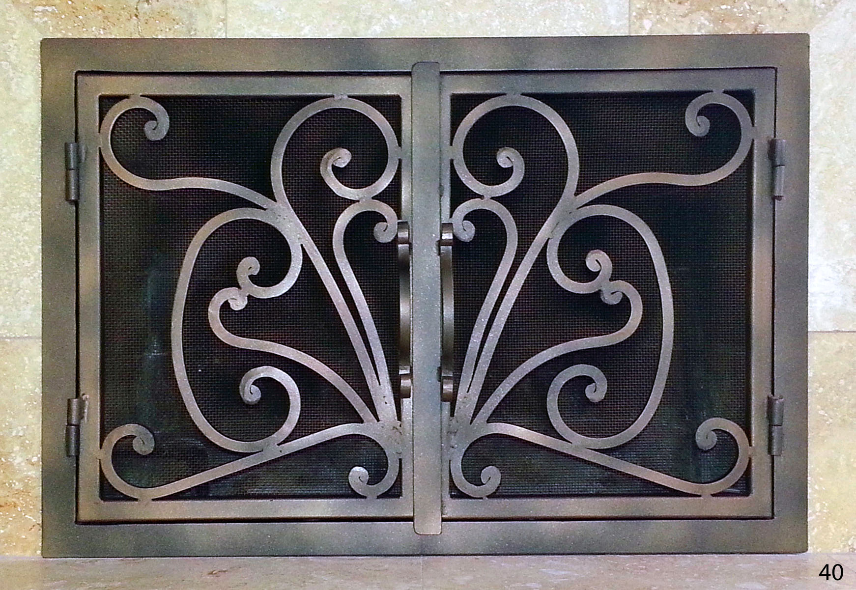Fireplace Door 40