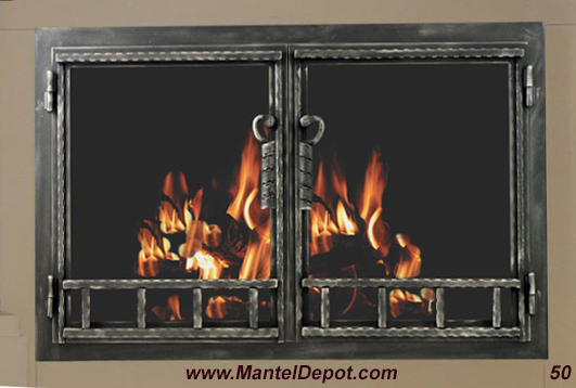 Fireplace Door 50