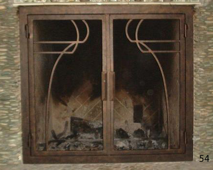 Fireplace Door 54