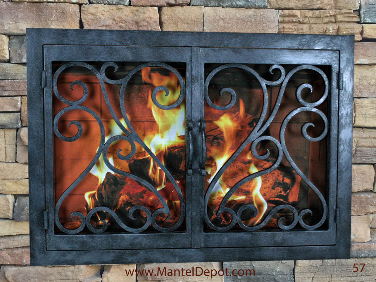 Fireplace Door FD057