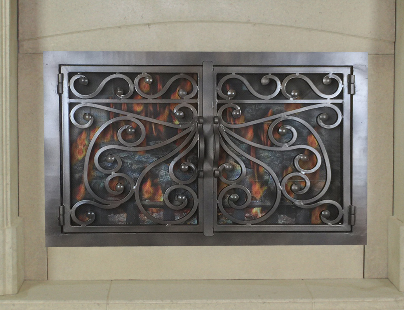 Fireplace Door 60