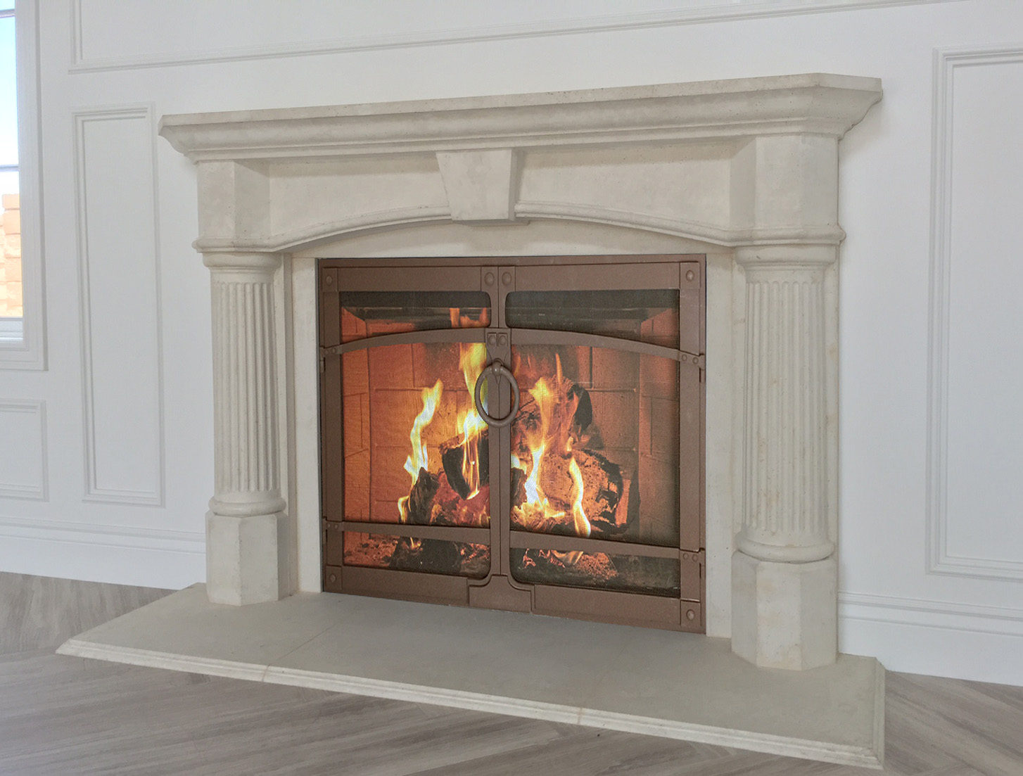 Model 103 Fireplace mantel