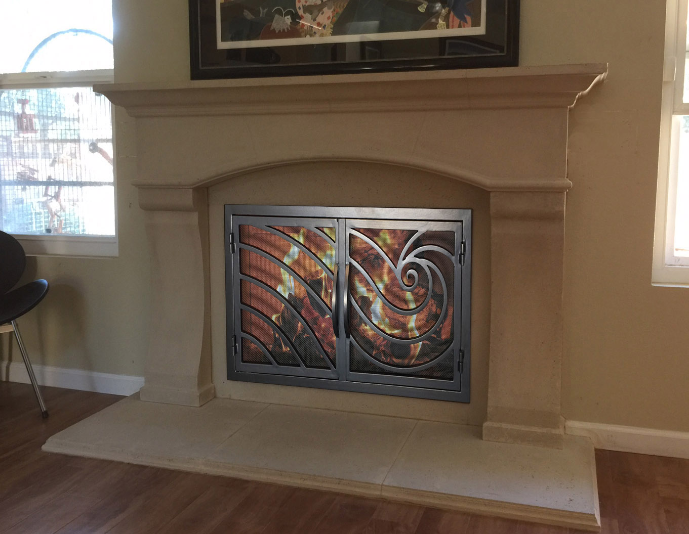 Fireplace Door 3