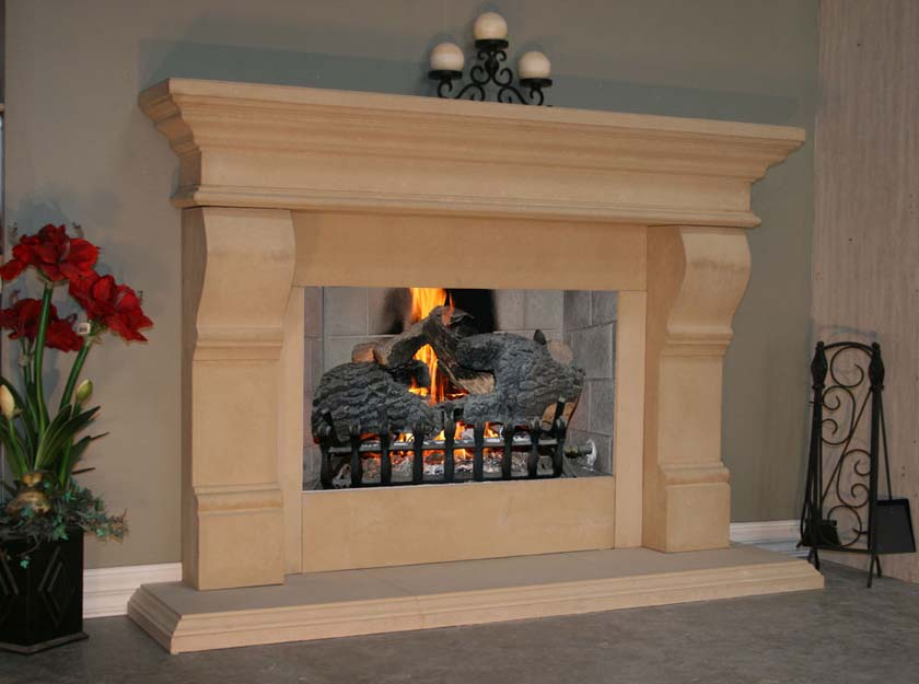 Fireplace Mantel 308