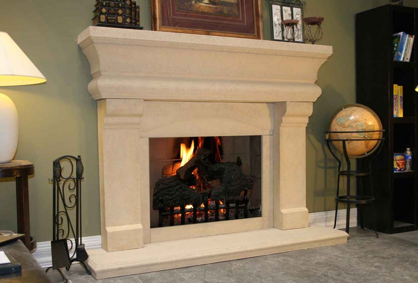 Fireplace Mantel 601