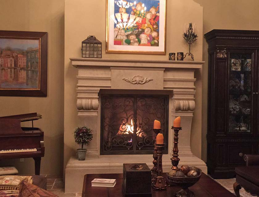 Fireplace Mantel 808