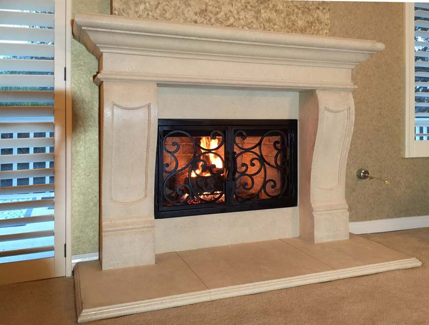 Fireplace Mantel 901
