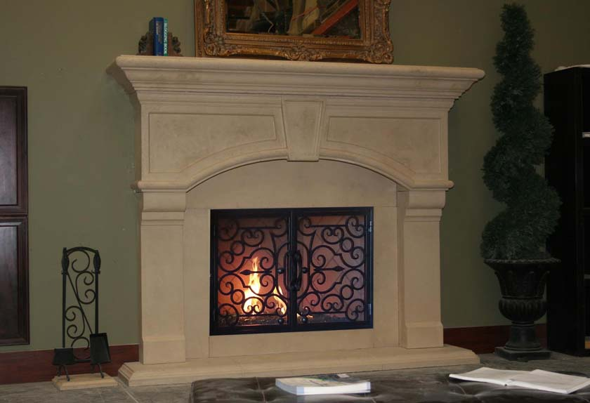 Mt929 Fireplace Mantels Fireplace Surrounds Iron Fireplace Doors And Screens In San Diego