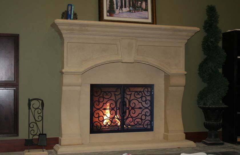 Mt935 Fireplace Mantels Fireplace Surrounds Iron Fireplace Doors And Screens In San Diego